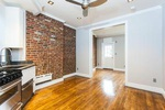 Stunning  Soho 1 Bedroom with Exposed Bricks and Balcony